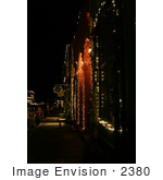 #2380 Victorian Christmas Scene In Jacksonville Or