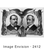 #2412 Grover Cleveland And Thomas A Hendricks