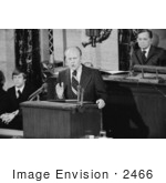#2466 Gerald Ford Addressing Congress