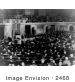 #2468 Hoover Addressing Joint Session Of Congress