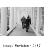 #2487 Gerald Ford Walking To His Office