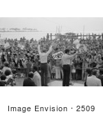 #2509 Gerald Ford Waving To A Crowd