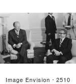 #2510 Gerald Ford And Henry Kissinger In The Roosevelt Room