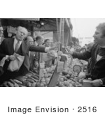 #2516 Gerald Ford At A Farmers Market