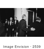 #2539 Gerald Ford Escorting Bruno Kreisky