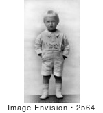 #2564 Gerald Ford As A Little Boy