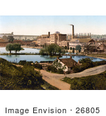 #26805 Stock Photography of the Factory of Burroughs Wellcome Chemical Works in Dartford, Kent, London, England, United Kingdom by JVPD