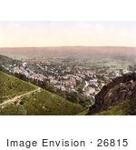 #26815 Stock Photography Of The Town Of Malvern In Worcestershire England Uk