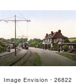 #26822 Stock Photography Of The Tram Station At The Groudle Glen Hotel In Onchan On The Isle Of Man England