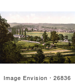 #26836 Stock Photography Of The Town Of Monmouth Wales Monmouthshire England Uk