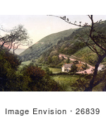#26839 Stock Photography Of Hunter'S Inn Near The Bay In Lynton And Lynmouth Devon England Uk