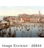 #26844 Stock Photography Of Boats In The Harbor In Margate Thanet Kent England Uk