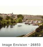 #26853 Stock Photography Of East Farleigh Lock On The River Medway Maidstone Kent England Uk