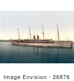 #26876 Stock Photography Of The Kaiser Wilhlem Ii Ship