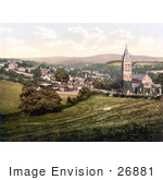 #26881 Stock Photography Of The Roman Catholic Church In Tavistock West Devon England Uk