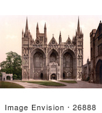 #26888 Stock Photography Of The Peterborough Cathedral In Peterborough England