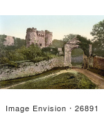 #26891 Stock Photography Of The Carisbrooke Castle In Carisbrooke Newport Isle Of Wight England