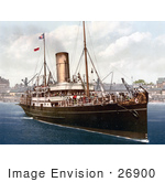 #26900 Stock Photography Of The Steamer Boat Lydia