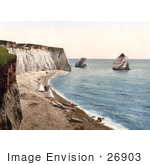 #26903 Stock Photography Of People On The Beach With Tents On The Isle Of Wight England