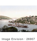 #26907 Stock Photography Of The Steamer Rms Pembroke Castle