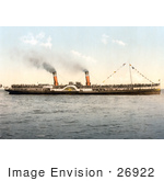 #26922 Stock Photography Of The Koh-I-Noor Paddle Steamer