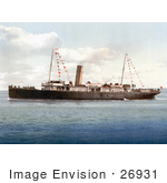 #26931 Stock Photography Of The Steamer Boat Vera