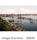 #26935 Stock Photography Of Ships In The Harbor At Weymouth Dorset England Uk