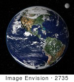 #2735 Earth From Space