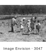#3047 Alabama Tenant Farmer and Children by JVPD