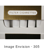 #305 Picture of a Cigarette Pack by Kenny Adams