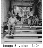 #3124 African American Sharecropper Family by JVPD