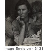 #3131 Migrant Mother By Dorothea Lange