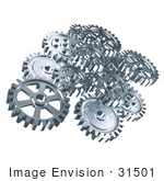#31501 Set Of Gears