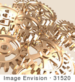 #31520 Set Of Gears