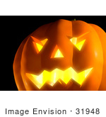 #31948 Smiling Pumpkin