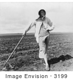 #3199 Wife Of Texas Tenant Farmer