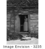 #3235 Caroline Atwater Standing in Doorway by JVPD