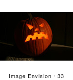 #33 Halloween Picture Of A Jack-O-Lantern