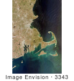 #3343 Cape Cod From Space