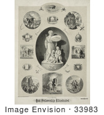 #33983 Stock Illustration Of Biblical Scenes Of The Odd Fellowship Illustrated