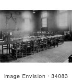 #34083 Stock Photo Of An Interior Of An Empty Court Room In Providence Rhode Island