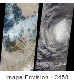 #3458 Hurricane Hector And Montana Fires