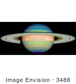 #3488 An Infrared View Of Saturn