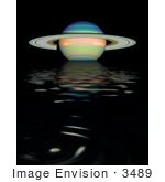#3489 An Infrared View Of Saturn