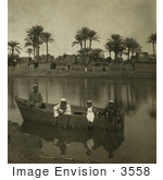#3558 Egyptian Village In The Nile Valley
