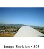 #356 Photo of a View From an Airplane Window, Medford, Oregon by Jamie Voetsch