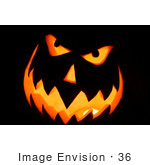 #36 Picture Of A Carved Halloween Pumpkin