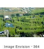 #364 Photograph of an Aerial View of a Golf Course, Medford, Oregon by Jamie Voetsch