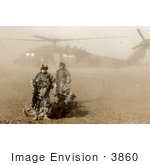 #3860 Us Army Soldiers Uh-60 Black Hawk