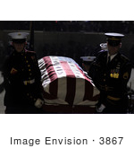 #3867 Carrying The Gerald Ford Casket